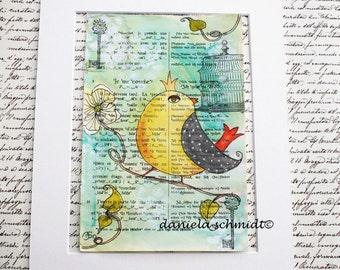 """Print """"little bird"""""""