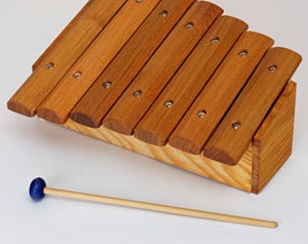 Children wood Xylophone * Handmade* Pentatonic scale - 7 accurately tuned sound bars