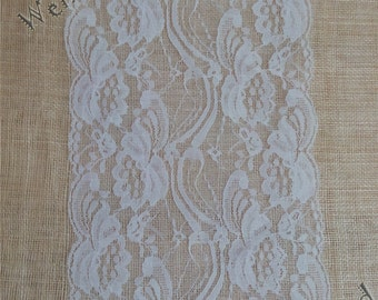 "12ft / 8ft Table runners 7"" table runners table runners lace table runner Wt71601"