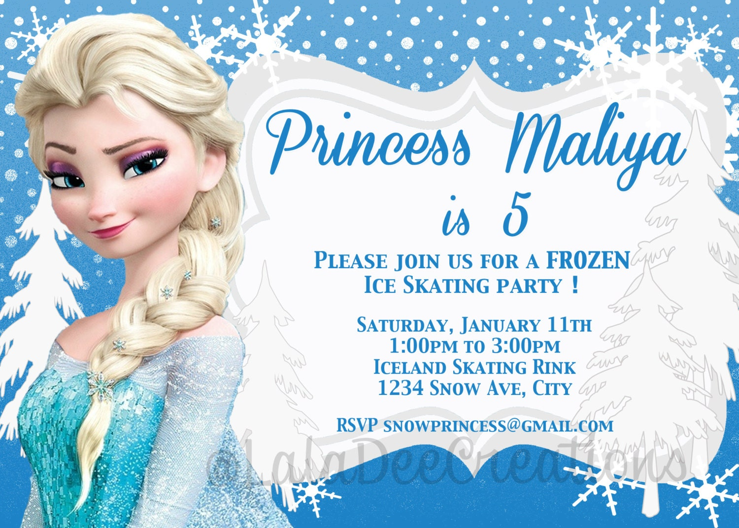 printable frozen birthday invitations - 28 images - frozen birthday ...