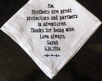 ... , brother memento gift, personalized brother of the bride gift