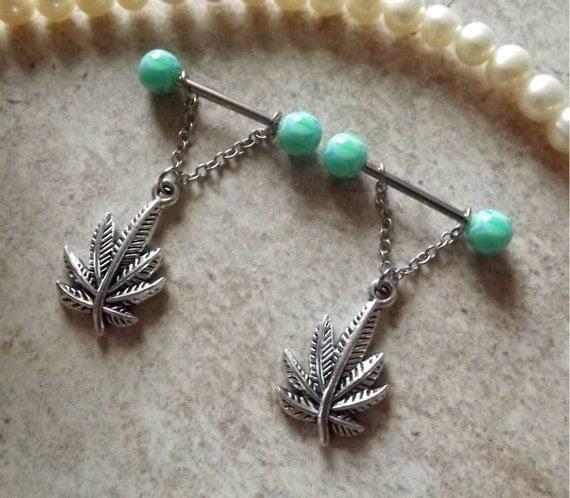 Pin swirl pot on pinterest for Pierced nipple stretching jewelry