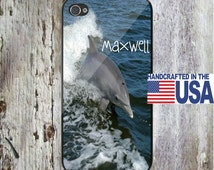 Dolphin Ocean Personalized Phone Case  iPhone 5 iPhone 5S iPhone 5C iPod Samsung iPhone 4/4S iPhone 6 iPhone6