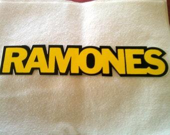 "Ramones 11""x2 1/8"" Sticker Decal new old stock"