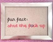 Fun fact! STFU