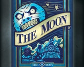 Majora's Mask Blue Moon: 11x17 Art Print