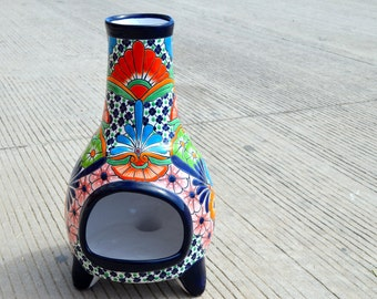 Talavera hearth