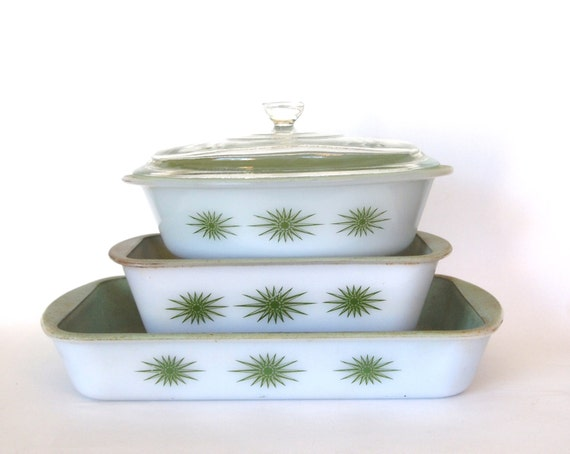 Vintage Mid Century Casserole Baking Serving Dish By