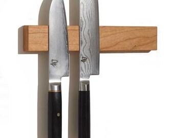 "M.O.C. Board 12"" Cherry (Magnetic Knife Holder or Magnetic Knife Strip)"