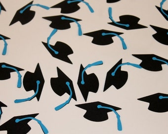 Graduation Cap Confetti- Set of 50