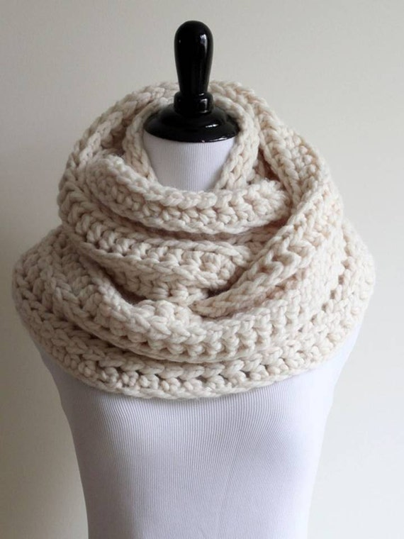FREE Crochet Pattern by Cream Of The Crop Crochet. This Post Contains Affiliate Links Belonging to Cream Of The Crop Crochet. This chunky scarf is not only quick and easy to whip up, but it's also a super mindless pattern once you get it started.