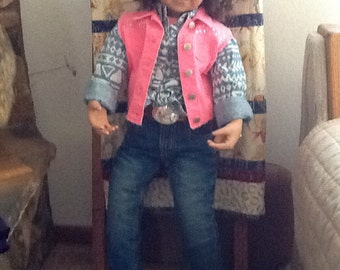 Collector's western doll
