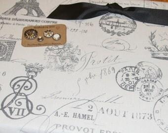 "Magnet Board (18"" x 24"") Bulletin Board, Paris, Eiffel tower, Magnetic Bulletin Board, Memo board, organization, kitchen bulletin board"