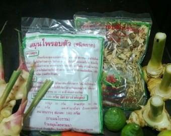 Thai herbs for sauna or steam 180g. ALL NATURAL.