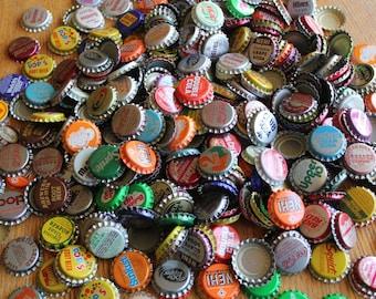 200 Vintage Bottle Cap Lot