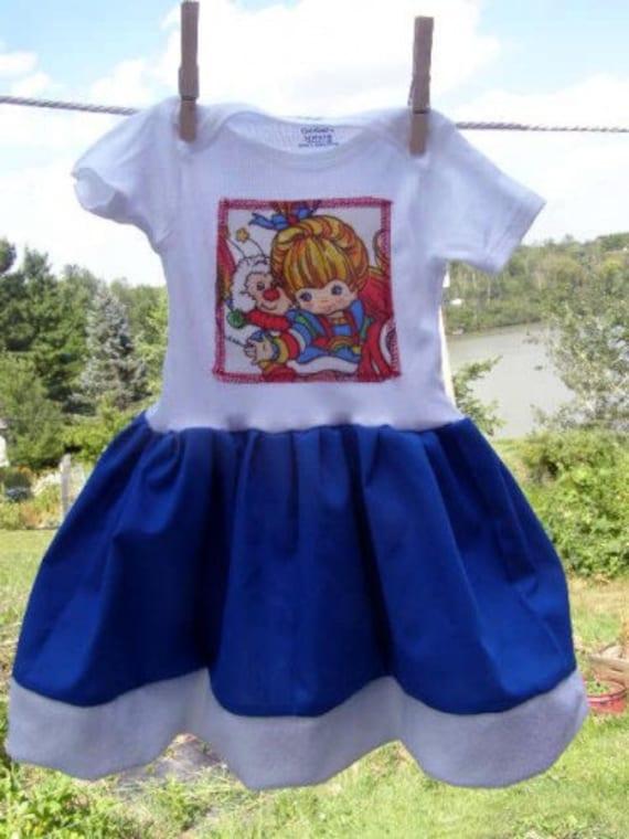 Rainbow Baby Shirt: Rainbow BRITE Onesie Dress Shirt Baby Toddler Or Kids Layette
