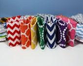 TWO Mason Jar Fabric Sleeves | Mason Jar Cover | Mason Jar Sleeve | Mason Jar Cozy | Mason Jar Cozies