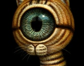 King Eyecat -Limited Edition Print-