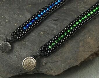 Beaded Wrap Bracelet by Lily Andersen