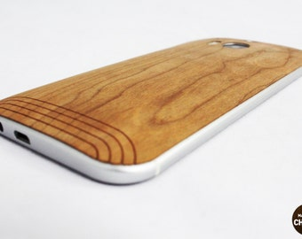 Real Wood Skin for the HTC One 2 (M8), free shipping worldwide