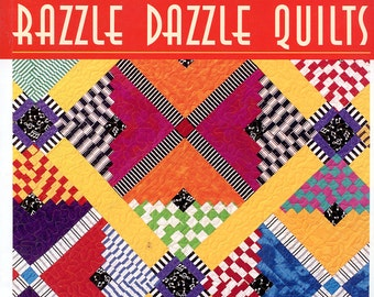 Razzle Dazzle Quilts  book by Judy Hooworth