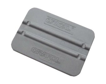 "Oracal 4"" Grey Squeegee - Vinyl Application Tool - Vinyl Squeegee - Vinyl Tool for Decals Graphics"
