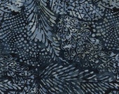 Wide Quilt Backing 1 yard cut by Timeless Treasures in the color Baluga, (blue, batik, wide backing, quilting back)