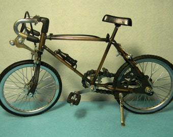 Miniature Sport Bike Antique for Decoration