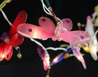 35 Bulbs Dragonfly  String Lights - String Lights for Home Decoration,Wedding,Party,Bedroom,Patio and De