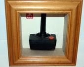 Framed Retro 8-Bit Atari Controller Ideal Gift for Nostaligic Geek