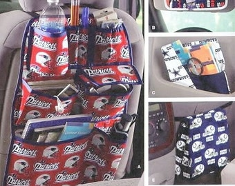 Car seat  Patterns Organization Over seat  Cd storage Litter bag & map cover