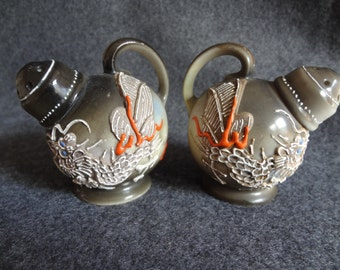 Moriyama Japanese dragon salt and pepper shakers