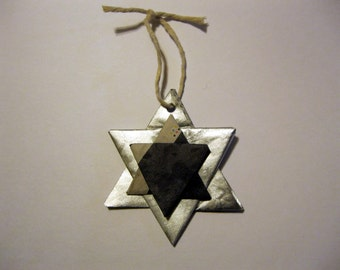 Star of David Paper Origami Ornament