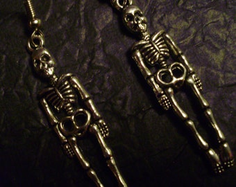 Skeleton Earrings (Pair)