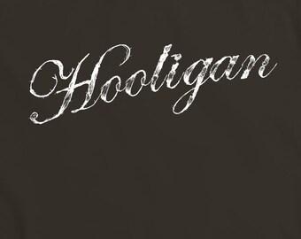 Hooligan T-Shirt - funny witty t-shirt geek comedy nerd humour Teesandthankyou