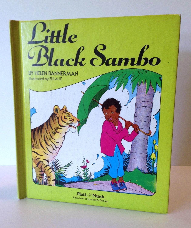 1972 little black sambo children s book by nicnacbrickabrack
