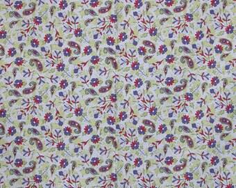 Garden Field Double Border, Galaxy by Free Spirit Loft Design for Free Spirit Fabrics