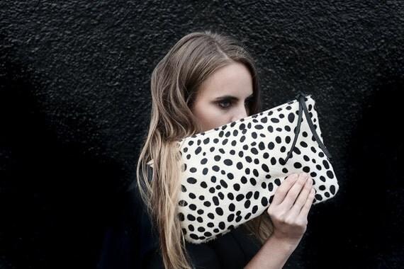 laurent handbags - PRIMECUT Spotted Cowhide Clutch Bag Purse by PrimecutBags