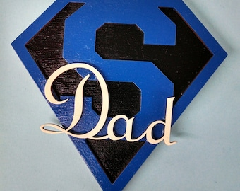 Super Dad Magnet - Great Father's Day Gift