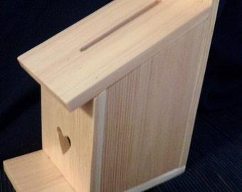 Birdhouse Wedding Card Box