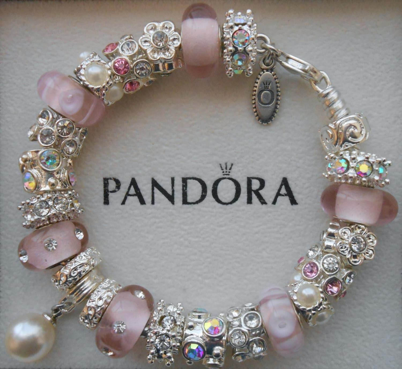 Authentic Pandora Bracelet Or Non Branded European Charm