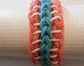 Sailor Pinstripe Rainbow Loom