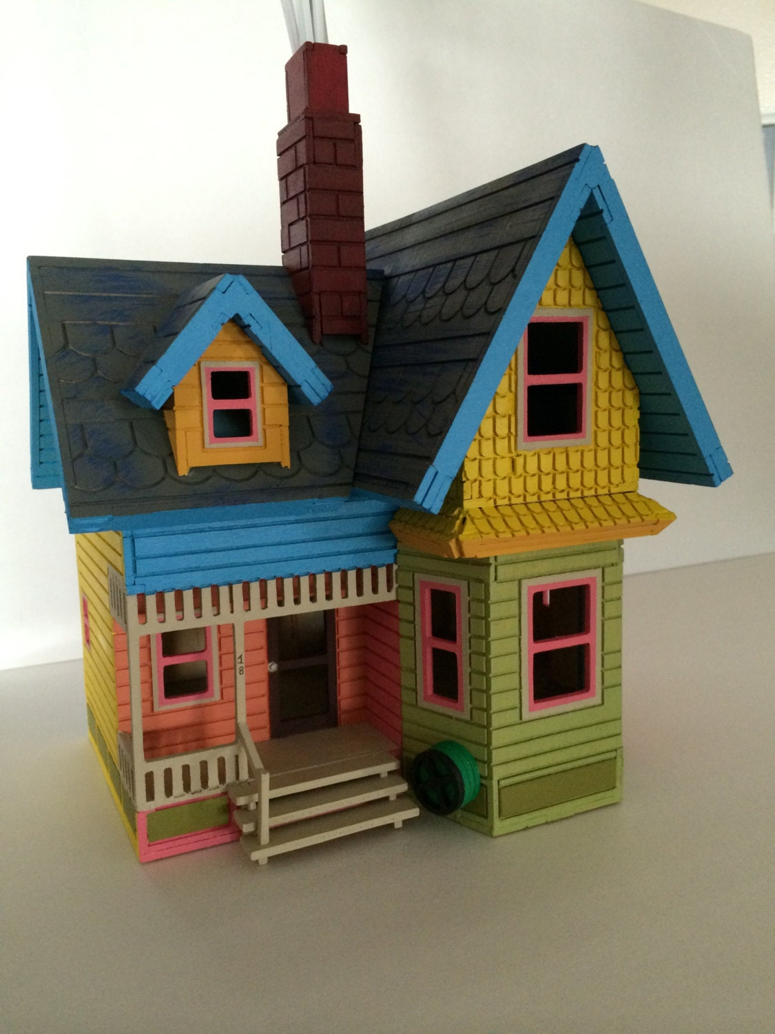 3d house puzzle from the movie up from disney by for Model house movie