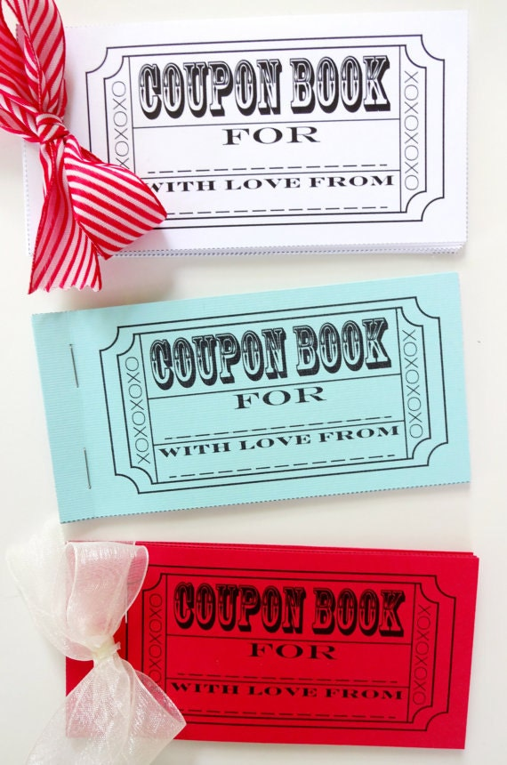 diy coupon book printable