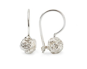 Chocolate - a pair of earrings in silver, valentine, weddding gift, perfect for graduation or sweet 16