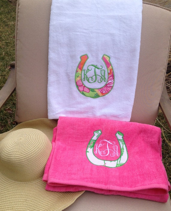 Items Similar To Lilly Pulitzer Monogrammed Beach Towel On