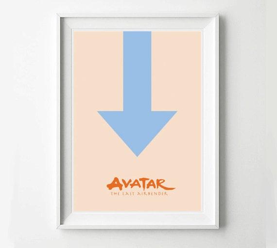 Avatar Movie Poster: Avatar The Last Airbender Movie Poster Minimalist Poster