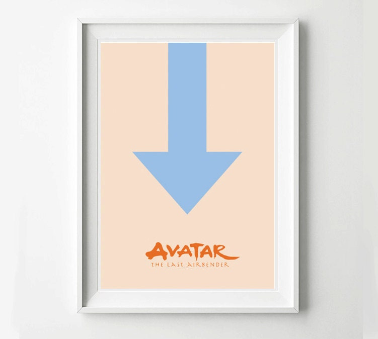 Avatar 2 Poster: Avatar The Last Airbender Movie Poster Minimalist Poster