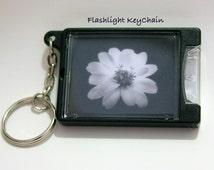 Daisy Glow Mini Flashlight Key Ring, Flashlight, Keychain, Stocking Stuffer