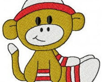 376 Sock Monkey Designs! All of my Sock Monkey designs in one set!